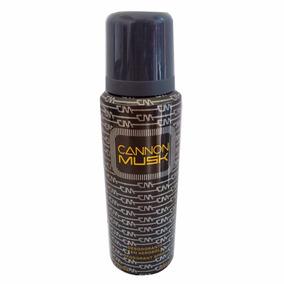 Desodorante Cannon Musk 250ml - Importado Original