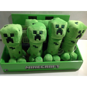 Muñeco De Peluche Minecraft Creeper Envio Sin Cargo Caba