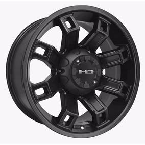 Jogo Rodas Hollowpoint 17x9 Dodge Ram Hilux L200 8x170 6x139