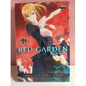 Mangá Red Garden New Pop Novo Lacrado
