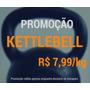 Kettlebell Ferro Fundido Pintado Preto 16kg