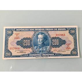 Cédula De 200 Cruzeiros.