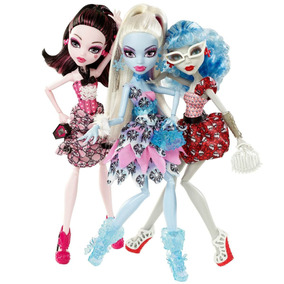 Monster High Draculaura, Abbey, Ghoulia 3 Pack Mattel 2012