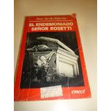Jj Bajarlia - El Endemoniado Sr Rosetti - Libro Terror