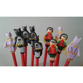 Lapiz Souvenirs Lego Batman Robin Batichica