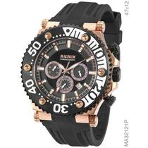Relógio Magnum Masculino Cronógrafo Ma32121p Original + Nf