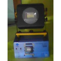 Lamparareflector Led 50w Recargable Con Strobo Tipo Patrulla