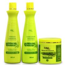 Kit Reconstrução Quiabo Cdc Cosmeticos 500ml