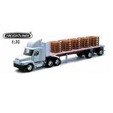 Juguete Camión New Ray Freightliner Blanco