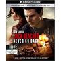 4k Ultra Hd + Blu-ray Jack Reacher 2 Never Go Back