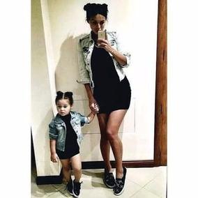 Vestido Gola Alta Tal Mãe Tal Filha -moda Blogueiras