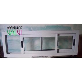 Ventanas aluminio 100 x 50 aberturas ventanas de for Ventanas de aluminio precios argentina
