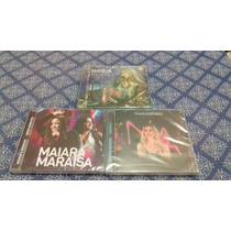 3 Cds Maiara E Maraisa/marília Mendonça E Naiara Azevedo