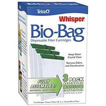 Tetra Whisper Montado Cartuchos De Filtro Bio-bolsa