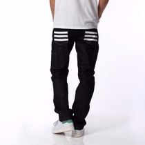 Calça Jeans Adidas Originals Stripes Raw Denim By Nigo Bape