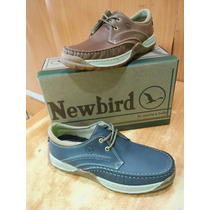 Zapatos De Caballeros Nauticos New Bird Originales