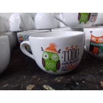 Souvenirs Tazones & Tazas Para Sopa Impreso En 7 Dias