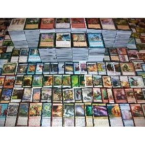 Lote De Cartas Incomuns Magic The Gathering - 100 Cartas