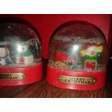 Navidad Adornos Coleccionables Los 2 $180