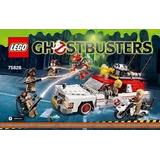 Lego Ghostbuster - Cazafantasmas - Ecto 1 & 2 - Original!!!