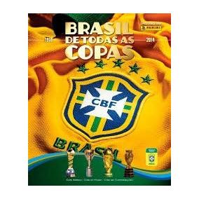 Lote Com 50 Figurinhas Diversas Brasil De Todas As Copas