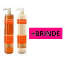 Left Hair Nano Papaya Kit (shampoo + Condicionador)+brinde