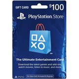 Psn Card 100 Usd (dólares Cuenta Usa - Playstation Network)