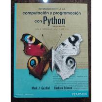 Introduccion A La Computacion Y Programacion Con Python