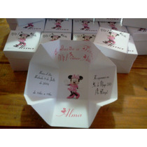 Invitaciones Minnie Para Primer Añito O Bautismo Promo