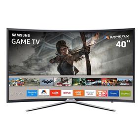 Smart Tv Games Led 40 Full Hd Curva Samsung 40k6500