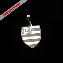Pingente Flamengo Em Prata 950k