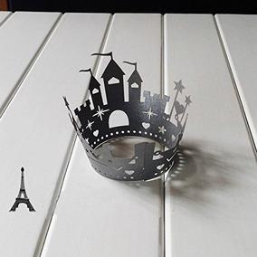 Ditop® Pack De 25 Castillo De Pastel De Halloween Laser Cut