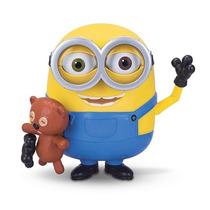 Muñeco Minion Bob Con Teddy Bear Con Licencia Original