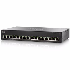 Switch Cisco Sg110-16 16 Port 10/100/1000 Rack (ex Sg100-16)