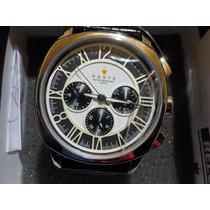 Reloj Para Hommbre Haste 142427652 Redondo Blanco Y Negro