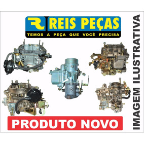 Carburador Vw Gol 1.6 Alc 84/89 Mini Progressivo