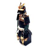 Armadura Samurai Em Miniatura Marrom Mod Ja304