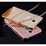 Case Espejo Galaxy Note 3 4 5 S5 S6 S7 S7 Edge J2 J5 J7 E5