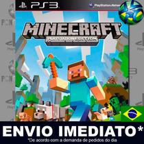 Minecraft Ps3 Edition - Ps3 - Psn - Dublado Em Português !!