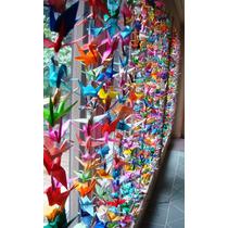 10 Tiras De Grullas De Origami. Casamientos Eventos Cumples