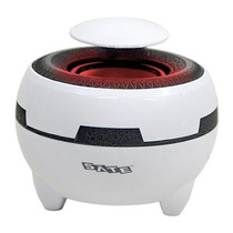 Caixa De Som Speaker Satellite As-685 Usb Rms 3watts Branco