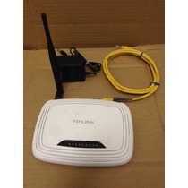 Roteador Wireless Tp-link Tl-wr 741nd 150 Mpbs 1 Antena