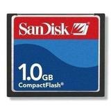 Cartão Memória Compact Flash 1gb Sandisk