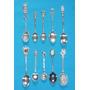 Colección De 10 Cucharitas De Plata Imperdibles