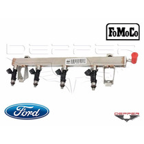 Flauta Com Bico Injetor Ford Focus Fiesta 1.6 16v Sigma Flex