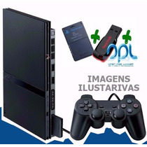 Playstation 2 Slim Exclusivo Para Jogar Com Pendrive 16gb