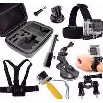 Kit P/ Gopro Hero 4 Hero 5 Go Pro Hd Cam Sport Sj5000