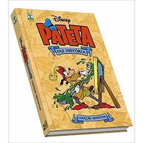 Pateta Faz História (português) Capa Dura Livro Hq