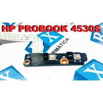 Placa Botão Wireless Hp Probook 4530s 60502410501