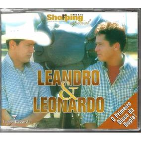 Cd Leandro E Leonardo Single Promo Reeditado Disco Estreia